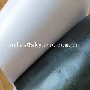 China OEM Double-sided Self Adhesive Rubber Butyl Tape Waterproof Butyl Sealing Tape wholesale