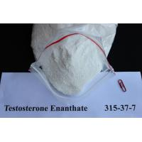 China Safe Testosterone Enanthate / Test Enan​ white Raw Steroid Powders For Muscle Building CAS 315-37-7 wholesale