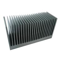 China Industrial Aluminum Heatsink Extrusion Profiles , with drill ,cutting ,tapping wholesale