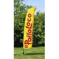 Quality Outdoor Business Flags And Banners , Full Color Pull Up Banner 4.6 Meter for sale