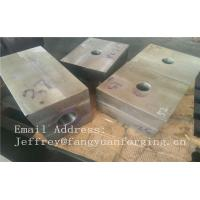 China SA182 F316 F304 SForged Steel Products Forgings Block Solution Milled And Drilling wholesale