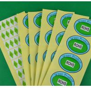 China White Vinyl Stickers wholesale