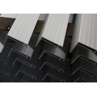 China Nautral Aluminum Solar Panel Frame 6063-T5 With Oxidized  / Anodizing wholesale