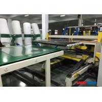 Transparent Embossed Diamond Plastic Sheet Production Line 200 - 550kgh Capacity
