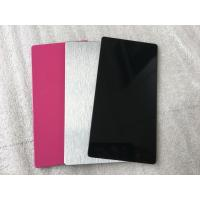 Quality Pink / Black Exterior Insulated Wall Cladding PanelsHigh Intensity 5mm Thickness for sale