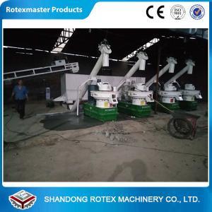 China Six Generation 2-3 Tons Per Hour Biomass Pellet Production Line wholesale
