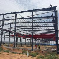 China Metal Building Construction Prefabricated Portable Steel Structure Light Industrial Plant wholesale