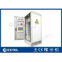 "China 19"" Rack Outdoor Telecom Cabinet Double Wall SNMP Communication Environment Monitoring wholesale"