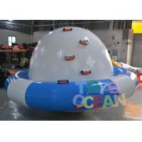 China Blue / White Inflatable Turtle Water Saturn For Amusement Water Park Equipment wholesale