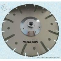 China Electroplated Segmented Saw Blades - DESB05 (Drop-shaped protective teeth) wholesale