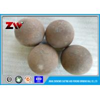 China High Chrome Forged steel grinding balls for mining / ball mill HRC 55-65 wholesale