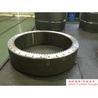 China Custom Ring Gear Forged Steel Flanges ASTM and ASME Standards , Hydraulic Press wholesale