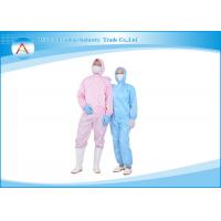 China Antistatic ESD Cleanroom Clothing Overcoat Uniform Workwear Suit wholesale