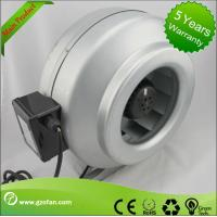 China galvanised Sheet Steel Inline Circular Duct Fan Class F Low Noise wholesale