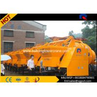 China S Pipe Valve Electric Concrete Mixer , Concrete Mobile Mixer 0.75Kw Water Pump Power wholesale