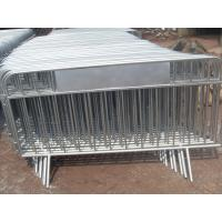 Wholesale Customized Size Powder Coated Crowd Control Barriers/Barricade from china suppliers