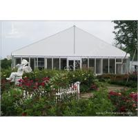 China Gorgeous Transparent Glass Outdoor Party Tents , 850g/Sqm PVC Fabric 20x30 Tent wholesale
