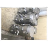 China Stainless Steel Pneumatic Rotary Actuator , Pneumatic Rack And Pinion Actuator Direct Mount wholesale