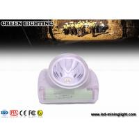 Buy cheap Cordless Led Mining Cap Light Head Lamp with Chargeable USB Charger Digital OLED Screen from wholesalers