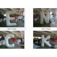 China customized giant advertising lighting inflatable Letter balloon wholesale