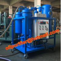 Buy cheap Lubrication Oil Dehydrating Special Vacuum filtration plant Purifier Turbine Oil from wholesalers
