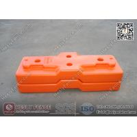 China Blow Mould Tempoary Fencing Feet (Combined Type) | China Plastic Feet Supplier wholesale