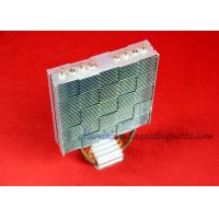 China 120W Aluminum Fin Copper Pipe Heat Sink For Computer Cooling wholesale
