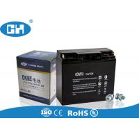 China High Capacity Small Lead Acid Battery , Sealed 12 Volt Battery Acid Resistance wholesale