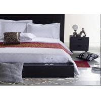 China Jacquard Fabric Hotel Bedding Sets , Hotel Collection 6 Piece Comforter Set wholesale
