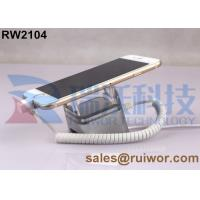China ABS / Aluminum Anodized Cell Phone Security Tether Display Holder With Alarm Function wholesale