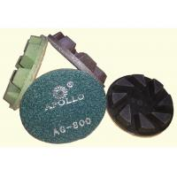 China High Performance 3'' Hard Diamond Ceramic Polishing Pads For Stone Processing wholesale