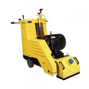 China Hydraulic Concrete Scarifier Rental , Floor Paint Removal Machine 1-15mm Depth wholesale
