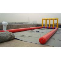 China Kids Inflatable Bounce House Inflatable Football Game For Kindergarten wholesale