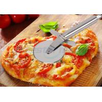 China Sanding Polishing Stainless Steel Pizza Cutter With Handle Filler 198 x 67 x 25mm wholesale