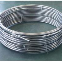 China Welded Round Stainless Steel Tubing Coil 200 - 1000mm For Beer Drinks Evaporator wholesale