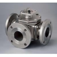 China Cast Steel Flanged End floating ball valve Duplex Steel or Hastelloy Alloy wholesale