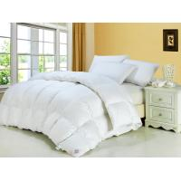 China  Luxury King 90% White Warm Down Feather Quilt for Winter , Household or Hotel Oversized Quilts  for sale