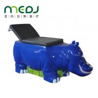 China Children ' S Ultrasound Examination Table Hippo Shape Metal Medical Bed wholesale
