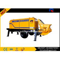 Quality 13 Mpa Outlet Pressure Electric Concrete Pump Filling Height 1400mm for sale