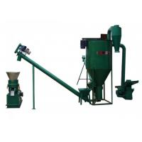China 15kw Noiseless Straw Wood Pellet Machine With High Effciency wholesale