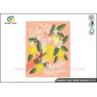 China Festival Paper Greeting Cards Eco Friendly Materials For Mothers' Day wholesale
