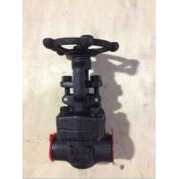 China Forged Steel Valves, ANSI Forged Steel Socket Welded/NPT Gate Valve 800LB wholesale