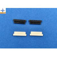 China Home Appliances 1.25mm Pitch Wire To Board Power Connectors PA66 Black 02p To 30p wholesale