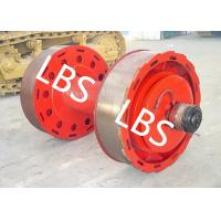 Buy cheap 10ton 20ton Smooth Wire Rope Winch Drum With Split Type Lebus Groove Sleeve from wholesalers