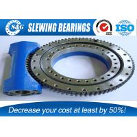 China Electric Solar Tracker Slewing Drives , Worm Drive Gear With Rubber Sealed wholesale