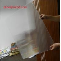 China 3D effects lenticular sheet materials 25 lpi 4mm thickness lenticular for uv flatbed printer and inkjet print wholesale