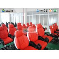 Quality Dynamic Movie Theater Seats In 5D Motion Theatre With Electric / Pneumatic / for sale