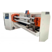 China High Temp Green Polyester Film Silicone 38mm Tape Roll Cutting Machine wholesale