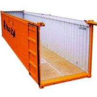 China 40  Feet Open Top Shipping Container Steel 12.03m*2.35m*2.33m wholesale