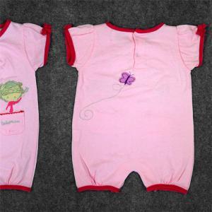 China Full Cotton Newborn Baby Clothes Set Baby Dress 180G 100% Cotton Interlock wholesale